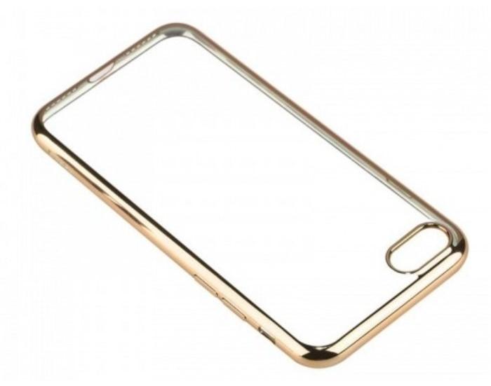 Husa  Benks Magic Glitz TRANSPARENT-AURIU pentru iPhone 7  iPhone 8 3