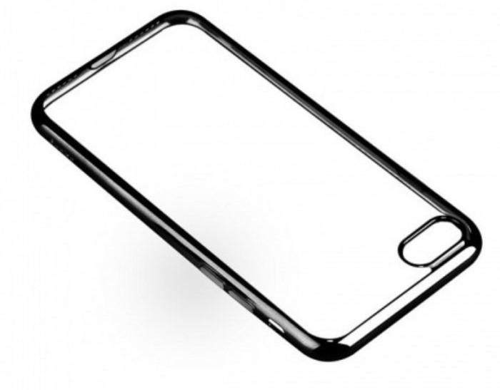 Husa Benks Magic Glitz TRANSPARENT - NEGRU pentru iPhone 7  iPhone 8 2
