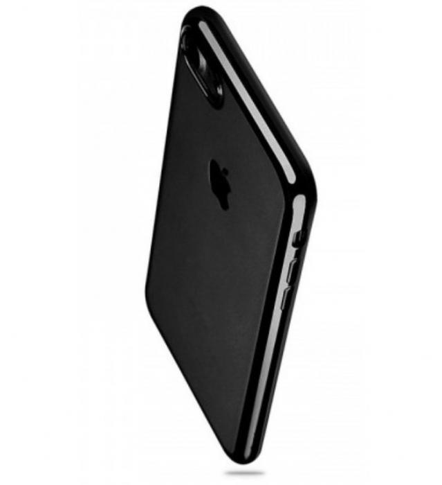 Husa Benks Magic Glitz TRANSPARENT - NEGRU pentru iPhone 7  iPhone 8 6