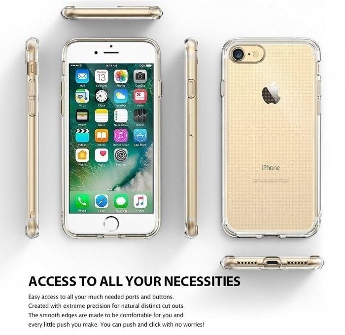 Husa Ringke Air ROSE GOLD pentru iPhone 7  iPhone 8 6