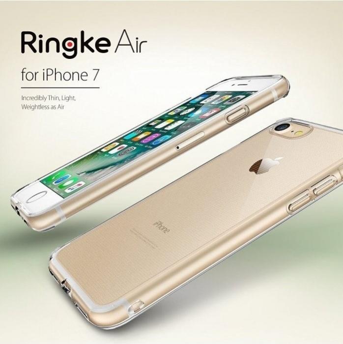 Husa Ringke Air SMOKE BLACK pentru  iPhone 7  iPhone 8 0