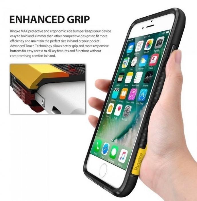 Husa Ringke ARMOR MAX BLACK pentru iPhone 7  iPhone 8 6