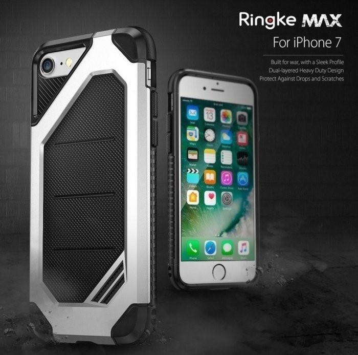 Husa  Ringke ARMOR MAX ICE SILVER pentru iPhone 7  iPhone 8 2