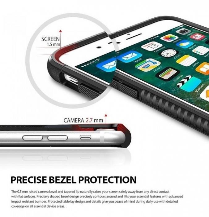 Husa  Ringke ARMOR MAX ICE SILVER pentru iPhone 7  iPhone 8 3