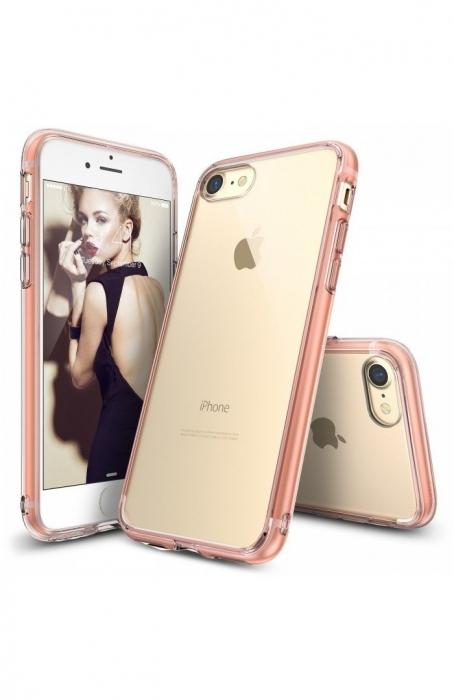 Husa Ringke FUSION ROSE GOLD pentru  iPhone 7  iPhone 8 6