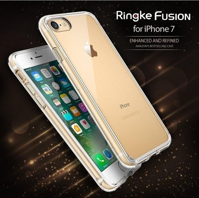 Husa Ringke FUSION SMOKE BLACK pentru iPhone 7  iPhone 8 6