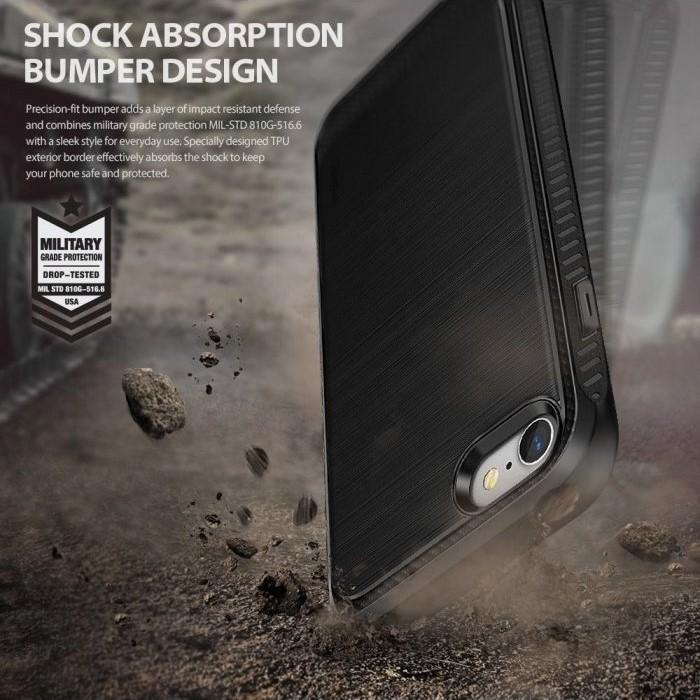 Husa Ringke ONYX BLACK pentru  iPhone 7  iPhone 8 3
