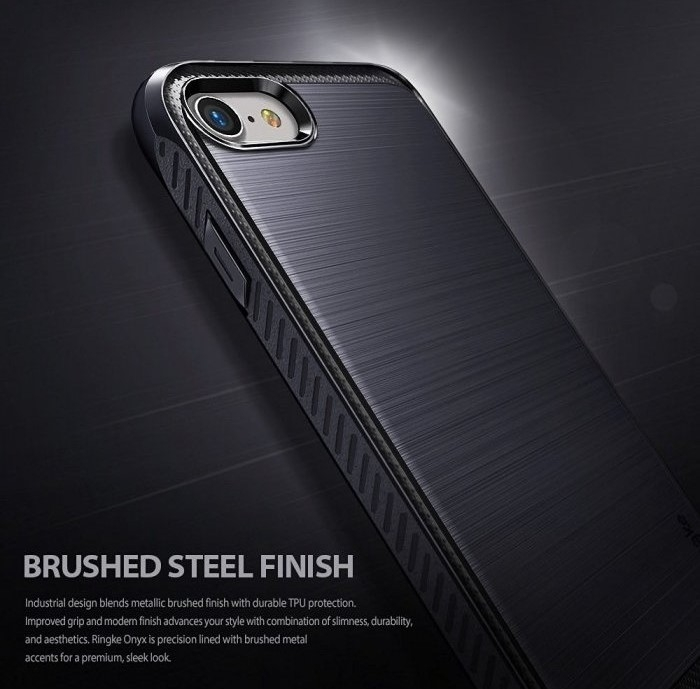 Husa Ringke ONYX BLACK pentru  iPhone 7  iPhone 8 6