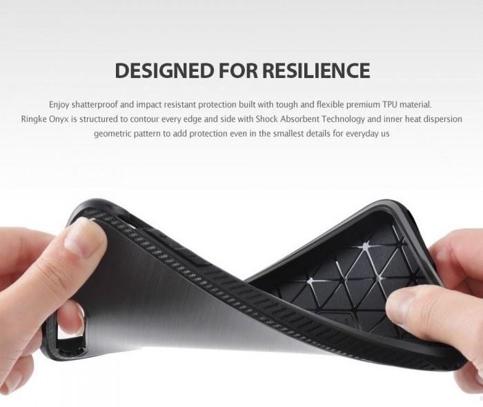 Husa Ringke ONYX BLACK pentru  iPhone 7  iPhone 8 7