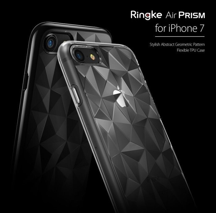 Husa Ringke PRISM ROSE GOLD pentru  iPhone 7  iPhone 8 4