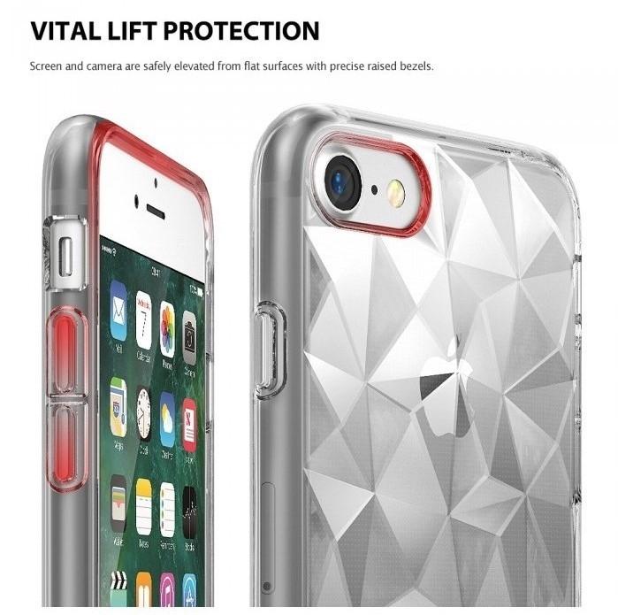 Husa Ringke PRISM ROSE GOLD pentru  iPhone 7  iPhone 8 3