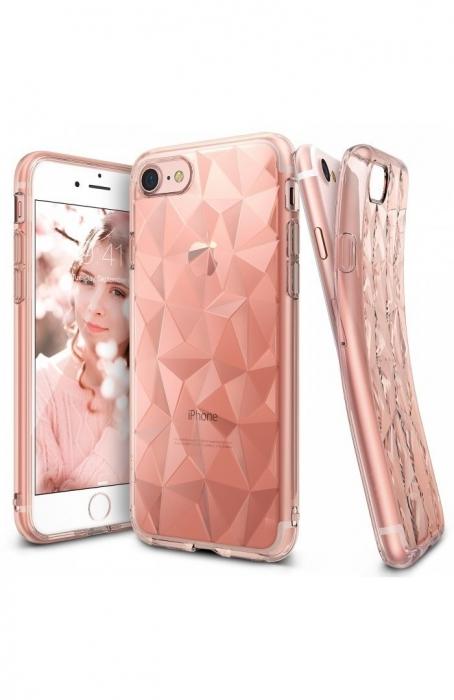 Husa Ringke PRISM ROSE GOLD pentru  iPhone 7  iPhone 8 0