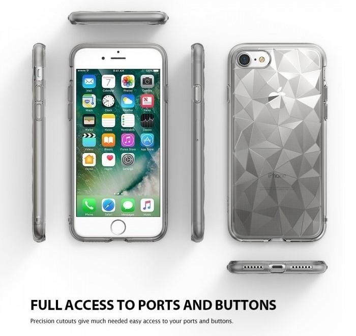 Husa Ringke PRISM SMOKE BLACK pentru iPhone 7  iPhone 8 8
