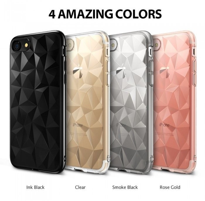 Husa Ringke PRISM SMOKE BLACK pentru iPhone 7  iPhone 8 6