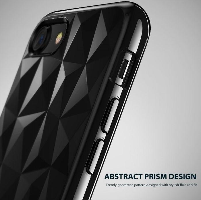 Husa Ringke PRISM SMOKE BLACK pentru iPhone 7  iPhone 8 5
