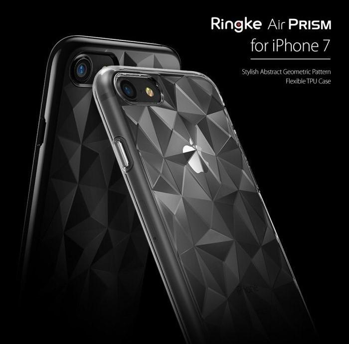 Husa Ringke PRISM SMOKE BLACK pentru iPhone 7  iPhone 8 4