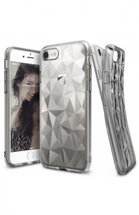 Husa Ringke PRISM SMOKE BLACK pentru iPhone 7  iPhone 8 0