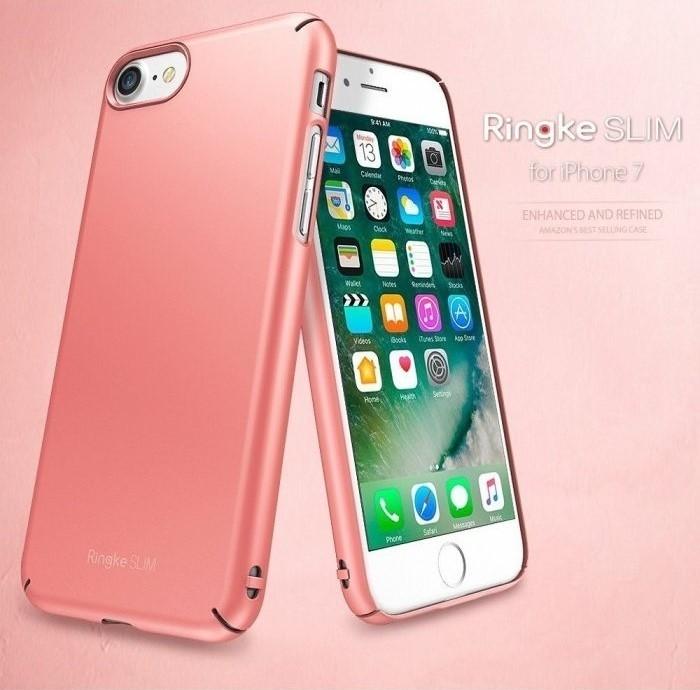 Husa Ringke Slim FROST GREY pentru iPhone 7  iPhone 8 8