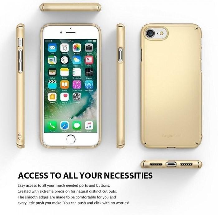 Husa Ringke Slim FROST GREY pentru iPhone 7  iPhone 8 7