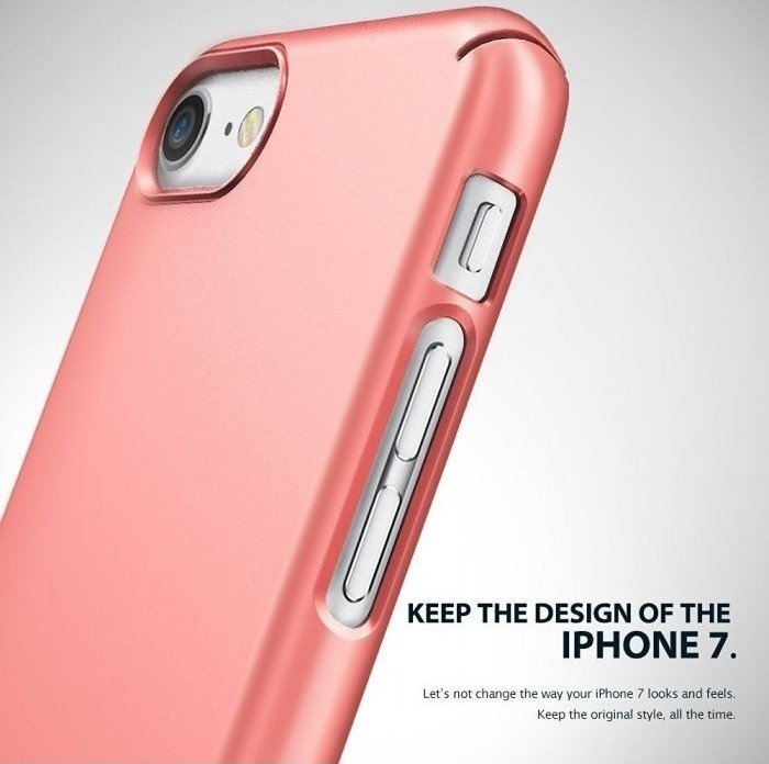 Husa Ringke Slim GLOSS BLACK pentru  iPhone 7  iPhone 8 3