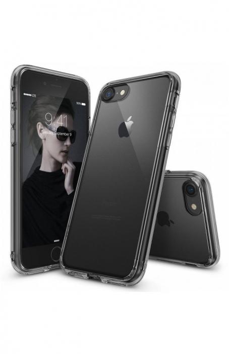 Husa Ringke FUSION SMOKE BLACK pentru iPhone 7  iPhone 8 0