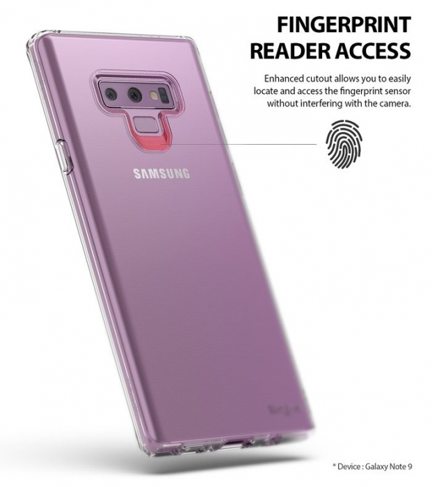 Husa Ringke Air Blue pentru Samsung Galaxy Note 9 4