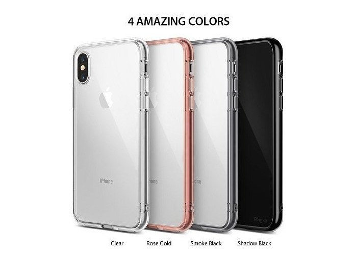 Husa Ringke Fusion Clear pentru iPhone X 1