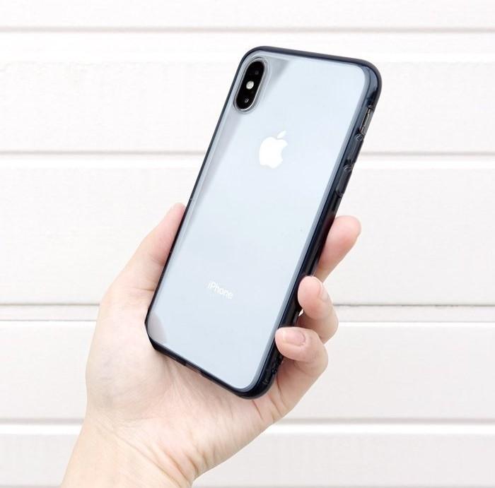 Husa Ringke Fusion Smoke Black pentru iPhone X 0