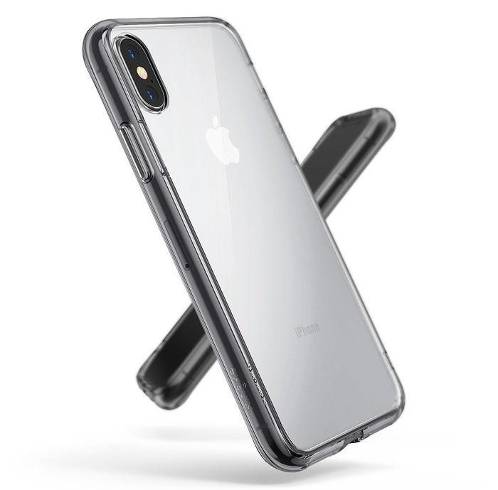 Husa Ringke Fusion Smoke Black pentru iPhone X 2