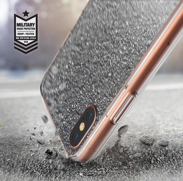 Husa Ringke Mirror Silver pentru iPhone X 2