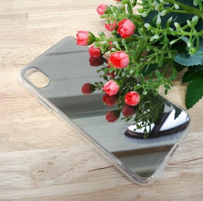 Husa Ringke Mirror Silver pentru iPhone X 3