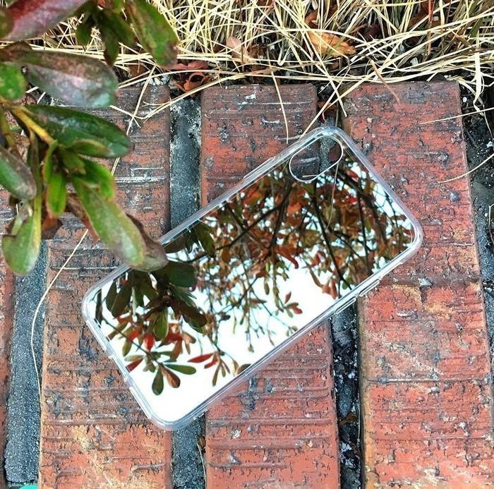 Husa Ringke Mirror Silver pentru iPhone X 7