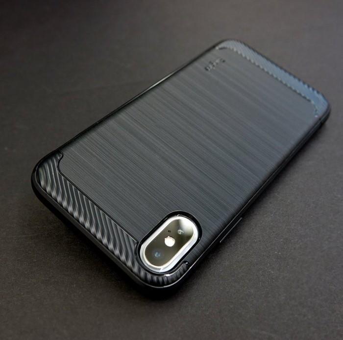 Husa Ringke Onyx Black pentru iPhone X 4