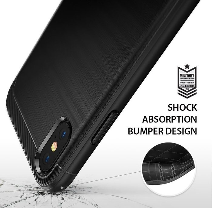 Husa Ringke Onyx Black pentru iPhone X 3
