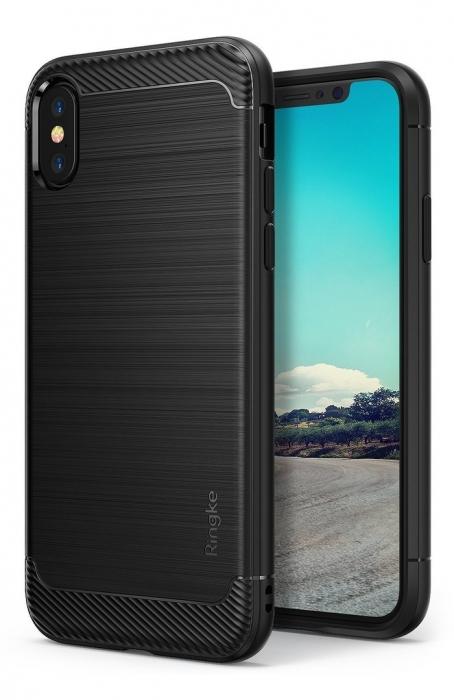 Husa Ringke Onyx Black pentru iPhone X 0
