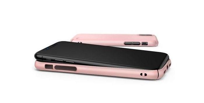 Husa Ringke Slim Black pentru iPhone X 6