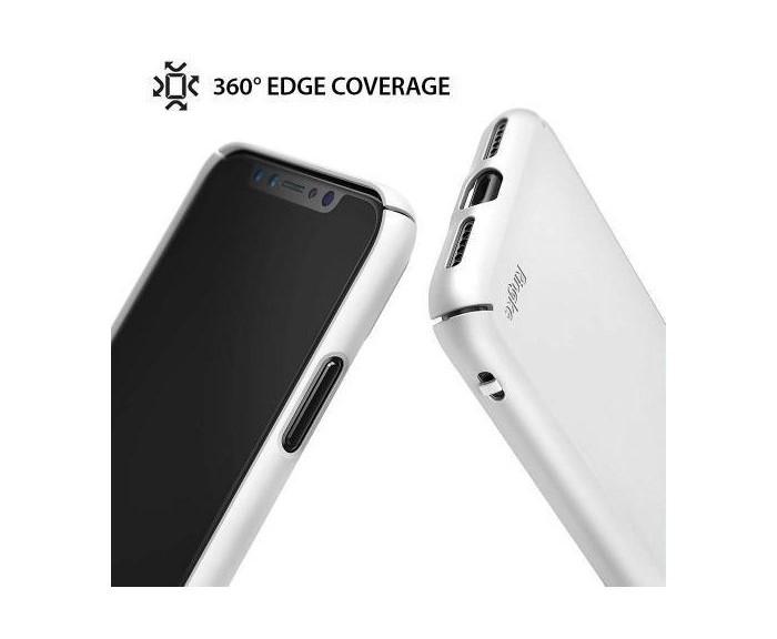 Husa Ringke Slim Black pentru iPhone X 3