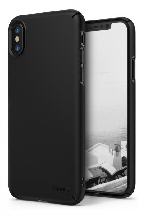 Husa Ringke Slim Black pentru iPhone X 0