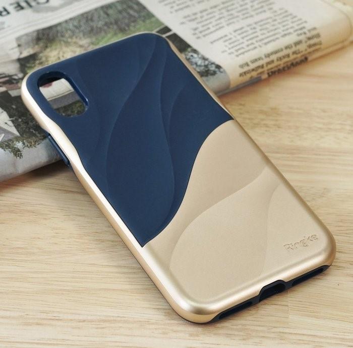 Husa Ringke Wave Marina Gold pentru iPhone X 4
