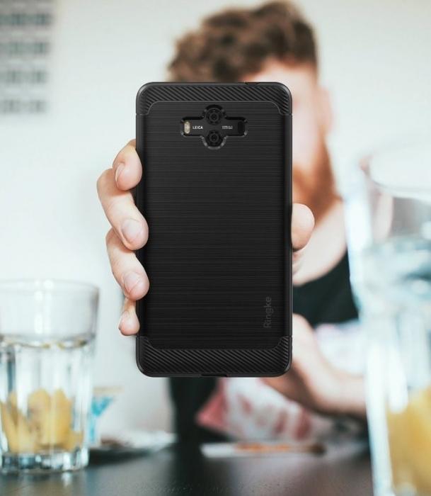 Husa Ringke Onyx Negru pentru Huawei Mate 10 4