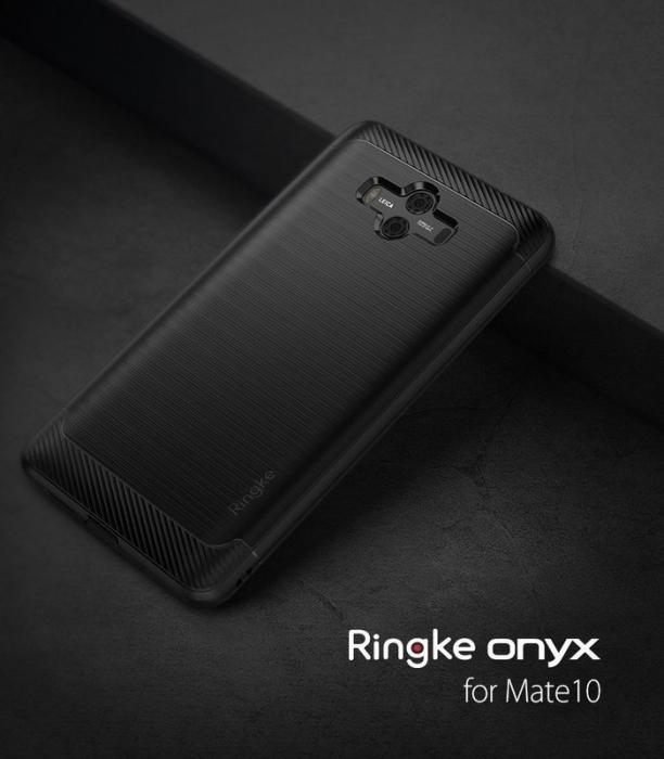 Husa Ringke Onyx Negru pentru Huawei Mate 10 8