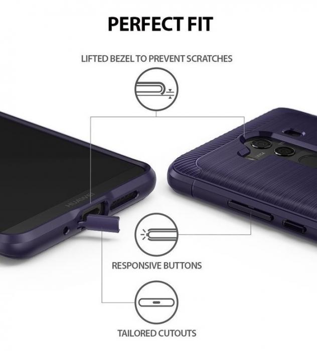 Husa Ringke Onyx Violet Pentru Huawei Mate 10 PRO 4