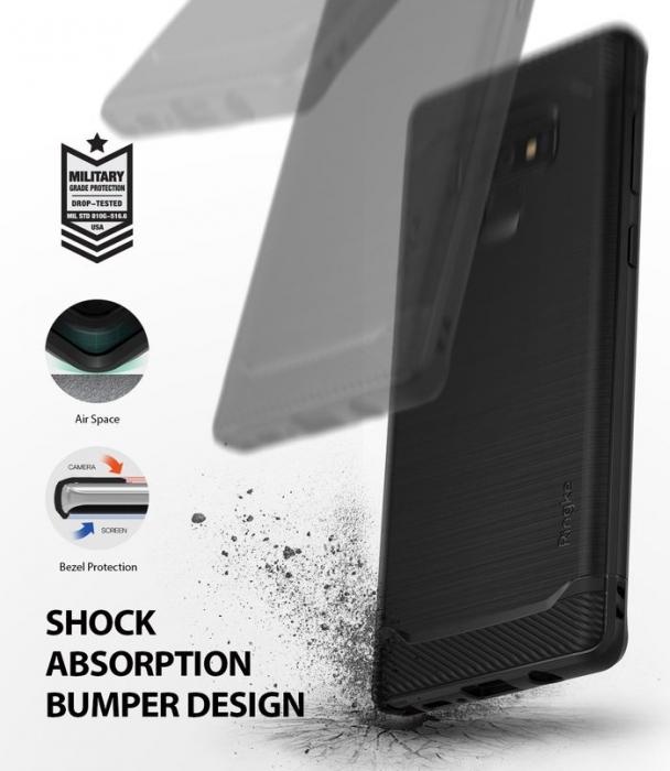 Husa Ringke Onyx Black pentru Samsung Galaxy Note 9 2
