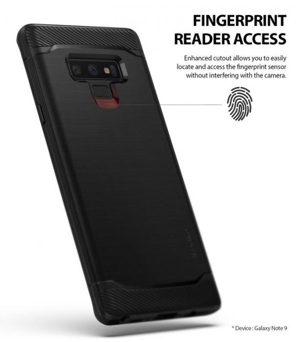 Husa Ringke Onyx Black pentru Samsung Galaxy Note 9 3