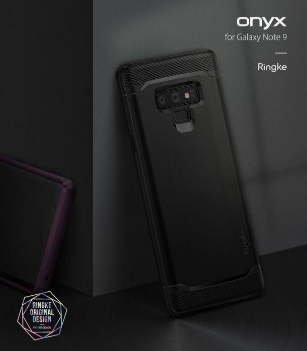 Husa Ringke Onyx Black pentru Samsung Galaxy Note 9 4