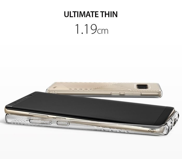 Husa Ringke Bevel Clear pentru Samsung Galaxy Note 8 5
