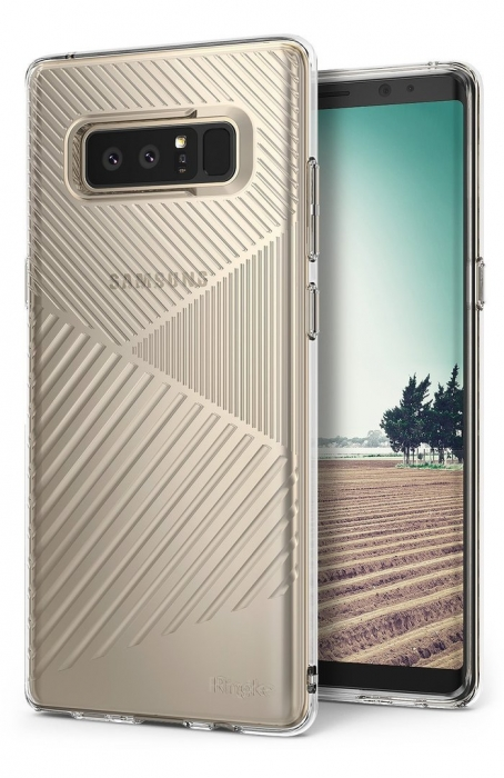 Husa Ringke Bevel Clear pentru Samsung Galaxy Note 8 1