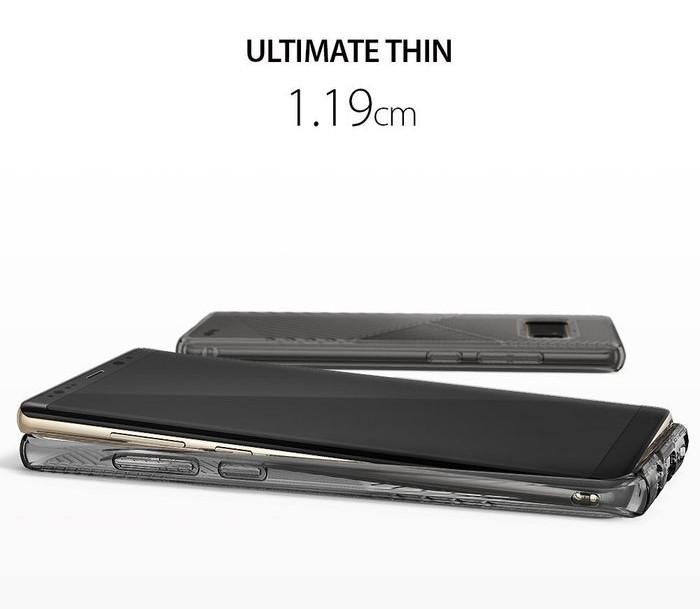 Husa Ringke Bevel Smoke Black pentru Samsung Galaxy Note 8 0