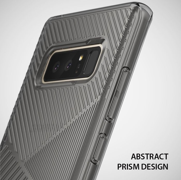 Husa Ringke Bevel Smoke Black pentru Samsung Galaxy Note 8 5