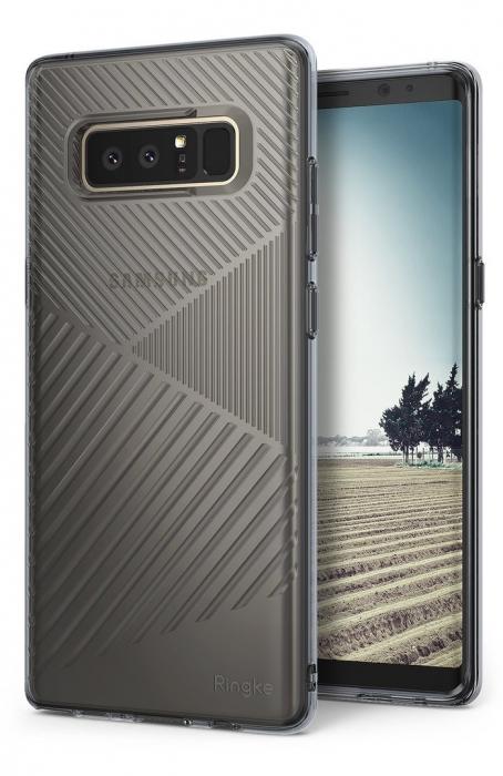 Husa Ringke Bevel Smoke Black pentru Samsung Galaxy Note 8 7